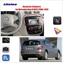 Liislee For Mercedes Benz R W251 2006~2013 Car Reverse Rear  View Camera / Connect Original Factory Screen / RCA Adapter liislee original hole camera wireless receiver mirror screen parking system for mercedes benz r mb w251 r300 r350 r500 r63