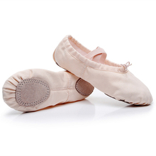 shose women canvas ballet slippers kids dance shoes Soft Flats Shoes ballerina girls clothing ballet shoes все цены
