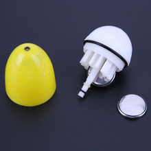 New Outdoor Electronic Fishing Float Super Bright LED Night Light Fishing Tackle Egg Shaped Professional Fishing Float