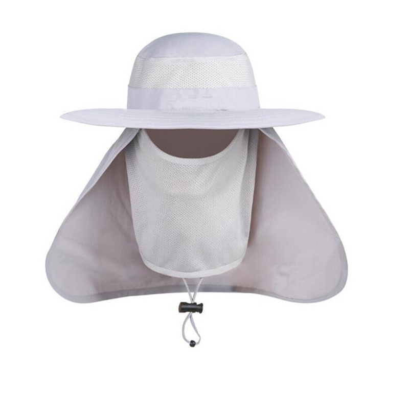 8ef06a9cf76 דלי כובעים - Outdoor Men Women Large Round Brim Sun Block Quick ...