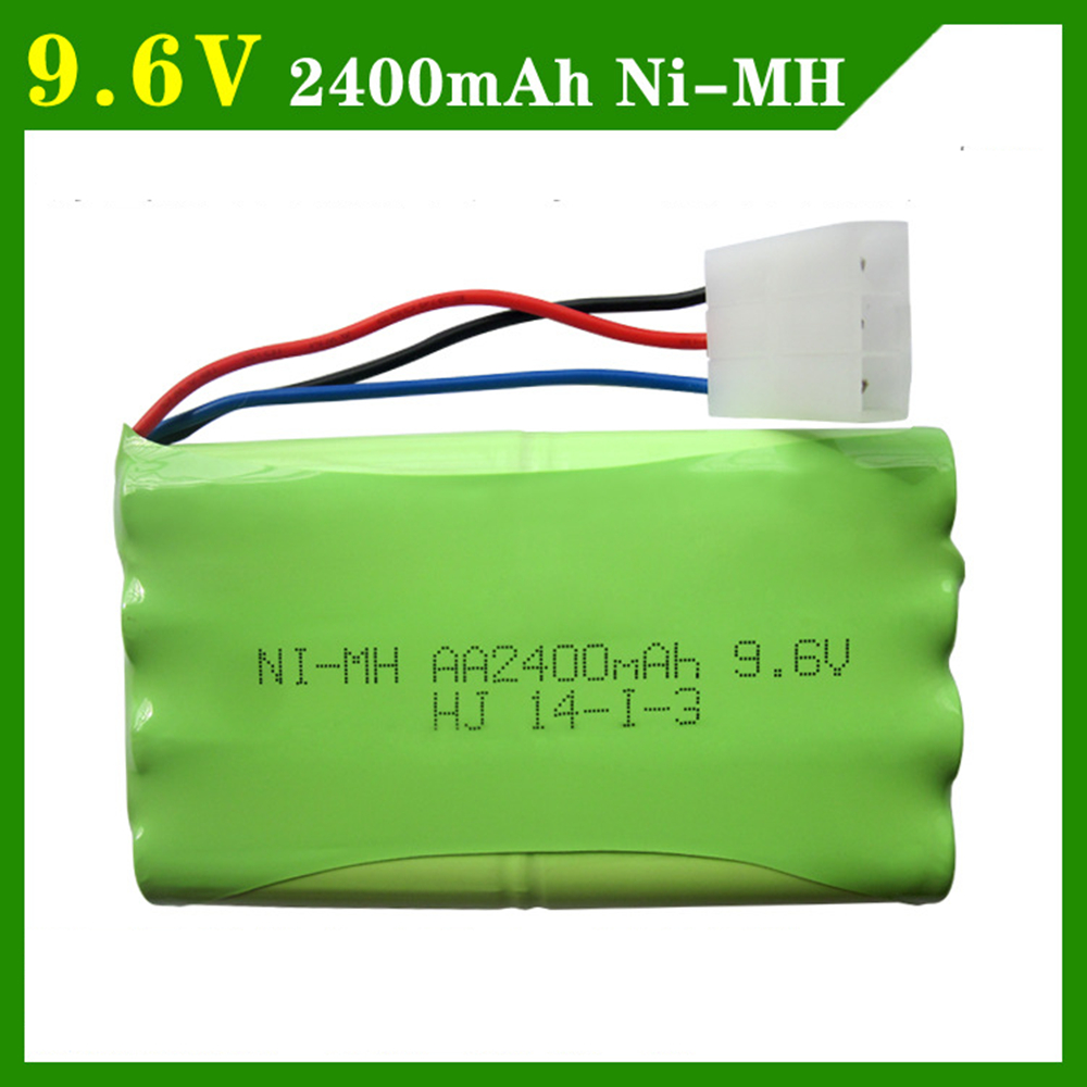9.6V 2400mAh Remote Controul Toys Eletric toy securty faclities eletric toy 8*AAA 9.6 v battery group free shipping