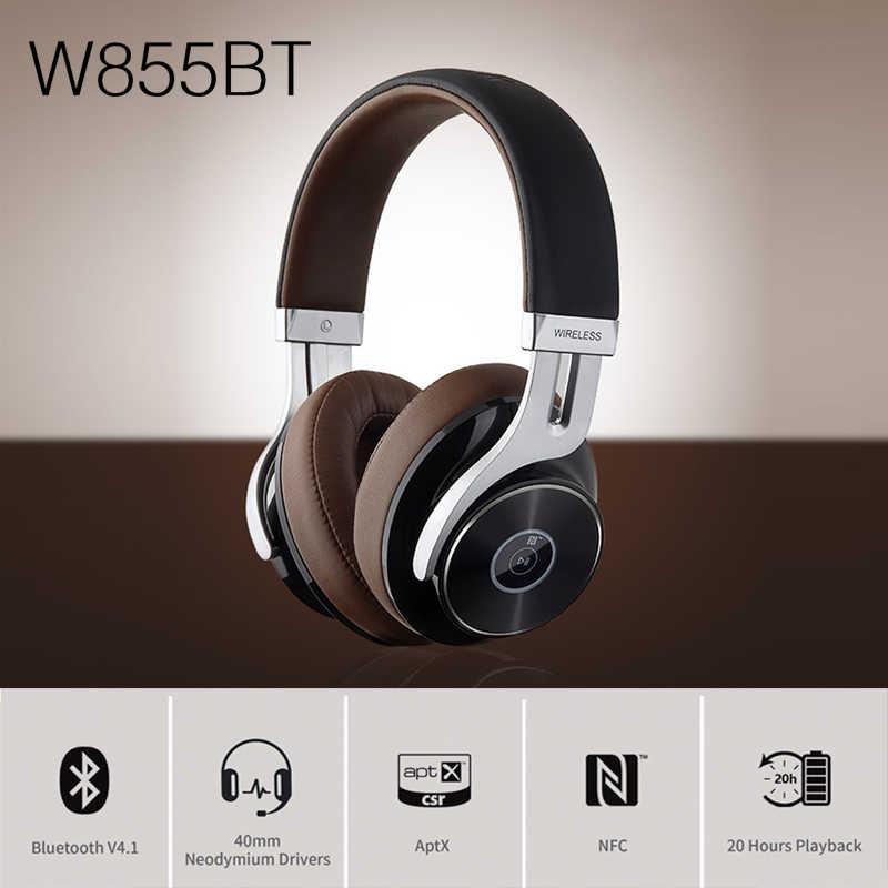 EDIFIER W855BT wysokiej jakości zestaw słuchawkowy Bluetooth Bluetooth NFC parowanie i obsługa aptX wygodne i staje w sytuacji sam na sam nausznych elementów sterujących i obsługa połączeń słuchawki