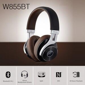 Image 2 - EDIFIER auriculares inalámbricos W855BT con Bluetooth, NFC, emparejamiento y aptX, compatibles con controles intrauditivos y llamadas