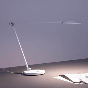 Image 4 - XIAOMI MIJIA Mi テーブルランププロ LED スマート読むデスクランプ学生オフィステーブルライト曲げ倍ベッドサイド夜の光 mihome アプリ