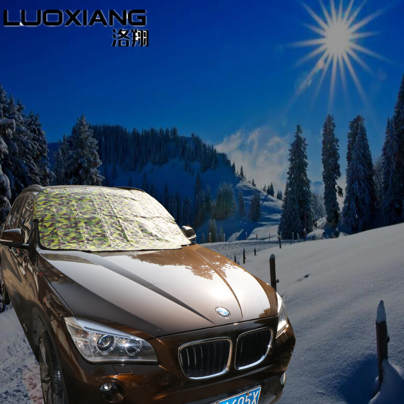 For Sedan SUV all car window sunshade magnetic anti frost snow ice High Quality covers Sun Reflective Shade Windshield 3 colors auto car windscreen snow ice frost windshield roof covers protector 610025