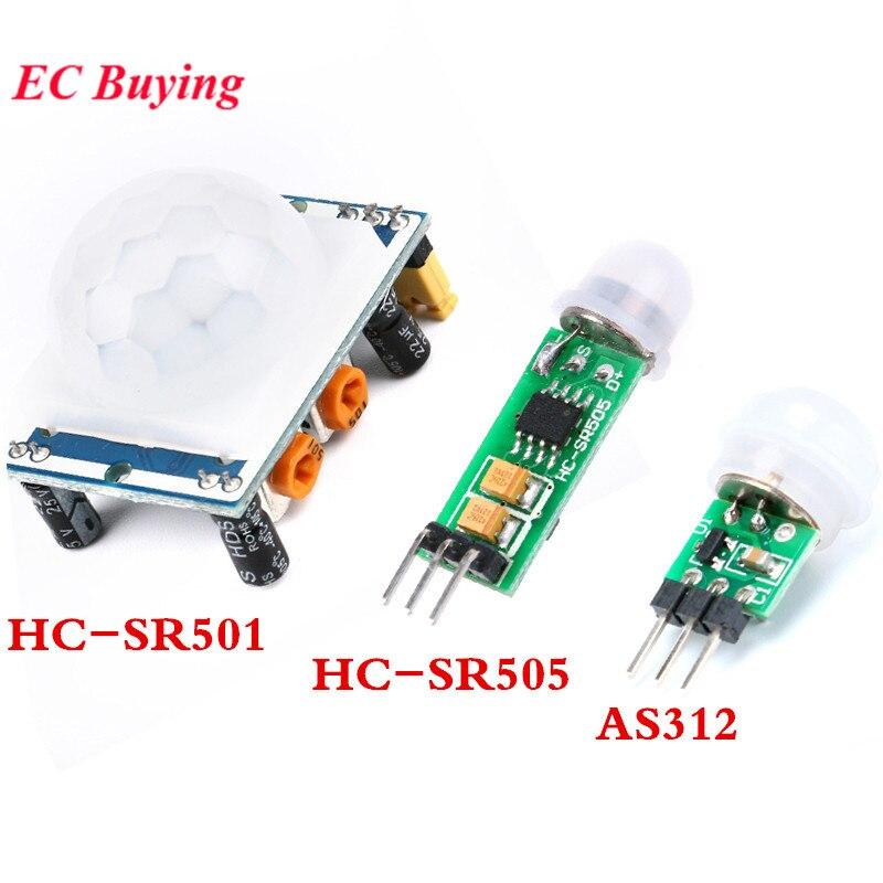 AM312 HC-SR501 HC-SR505 Adjust IR Pyroelectric Infrared PIR Module Motion Sensor Detector Module for Arduino