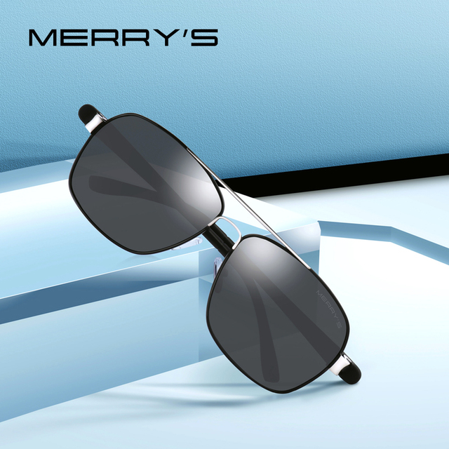 08ac6a489e MERRYS DESIGN Men Classic HD Polarize Sunglasses For Men Driving Luxury  Shades TR90 Legs UV400 Protection S8501