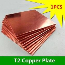 1 sztuk CP015 ultra-cienki arkusz miedzi 100mm * 150mm * 5mm T2 miedziana taca sprzedam z blachy straty miedzi