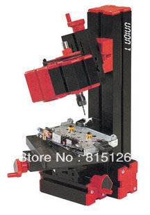 Free shipping 6 one small metal lathe small drill milling machine grinding machine sawing machine send teaching CD