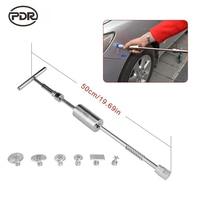 PDR Gereedschap Auto Verveloos Dent Repair Tools Uitdeukstation Slide Hammer Reverse Hamer met Aluminium Zuignappen voor Verwijderen Deuk