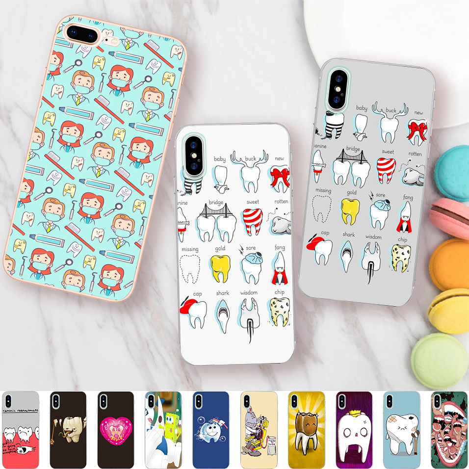 Latest Collection Of Medicine Nurse Doctor Dentist Soft Silicone Edge Phone Cases For Apple Iphone X 5s Se 6 6s Plus 7 7plus 8 8plus Xr Xs Max Case Cellphones & Telecommunications Phone Bags & Cases
