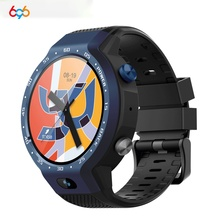 цена на 696 Z30 New Smartwatch Android 7.1 5MP Dual System 4G Smart Watch Phone Front Camera 600Mah Support GPS WIFI Heart Rate