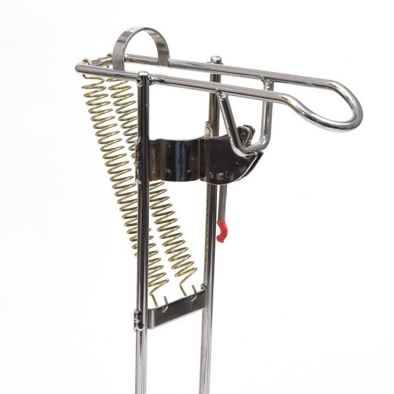 Automatische Doppel Frühling Winkel Angelrute Angelgerät Halterung Anti-rost-stahlstapler Angeln Halterung Rutenhalter Angelrute Zubehör