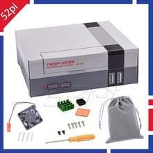 52Pi In Stock Mini NES NESPI CASE Retroflag with Cooling Fan Heatsinks Flannel font b bag
