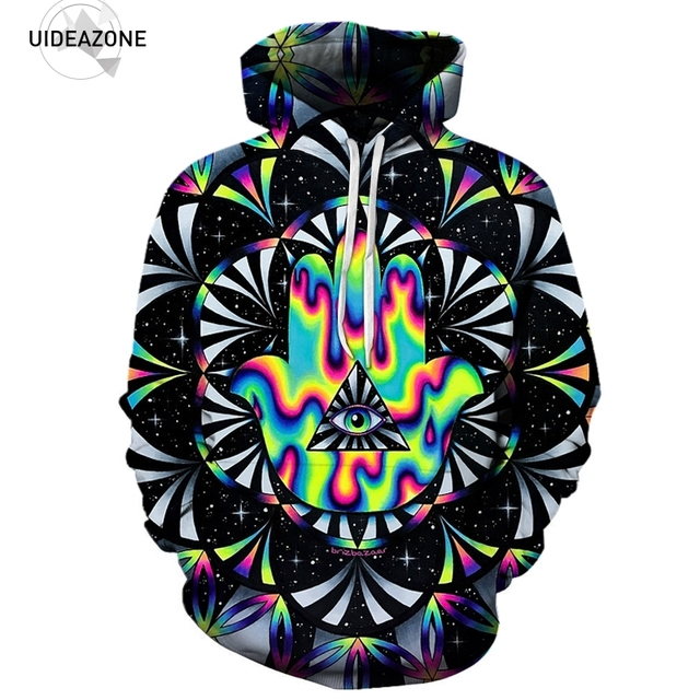 557a50bad Trippy Triangle Eye 3D Hoodies Men Women New Fashion Autumn Winter Pullover  Hoodie Sweatshirt Casual Hip Hop Tracksuit Dropship