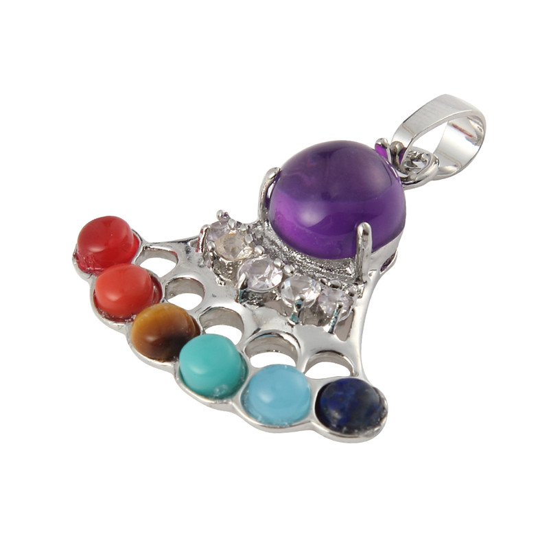 High Grade Cat paw Shaped Stones beads Healing Reiki Chakra beads Charms Pendants For Jewelry Making DIY