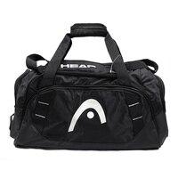 Cabeça saco de tênis profissional preto raquete bolsa grande capacidade com sapatos saco pode conter 2 raquetes para homens 2018 verão|handbag handbags|handbag bag|handbag shoulder bag -