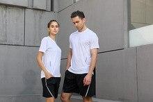 Men Women Short Sleeve Loose Running Shirt Sport Quick dry breathable T-shirt Outdoor Jogging Gym Run Training Sportswear Tops