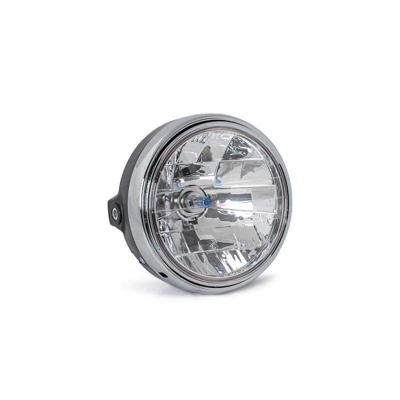 Halogen strålkastare Runda krom strålkastare ljus för Honda CB 400 - Motorcykel tillbehör och delar - Foto 2