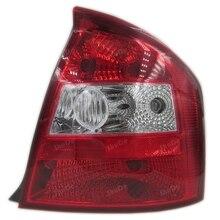 Para Yueda kia cerato 2003-2007 taillight cauda montagem de luz traseira da cauda da lâmpada luzes 1 PCS