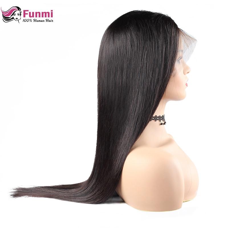 Perruques frontales en dentelle Funmi mongole pour femmes noires 360 perruques frontales en dentelle avec cheveux de bébé Remy 360 perruques en dentelle