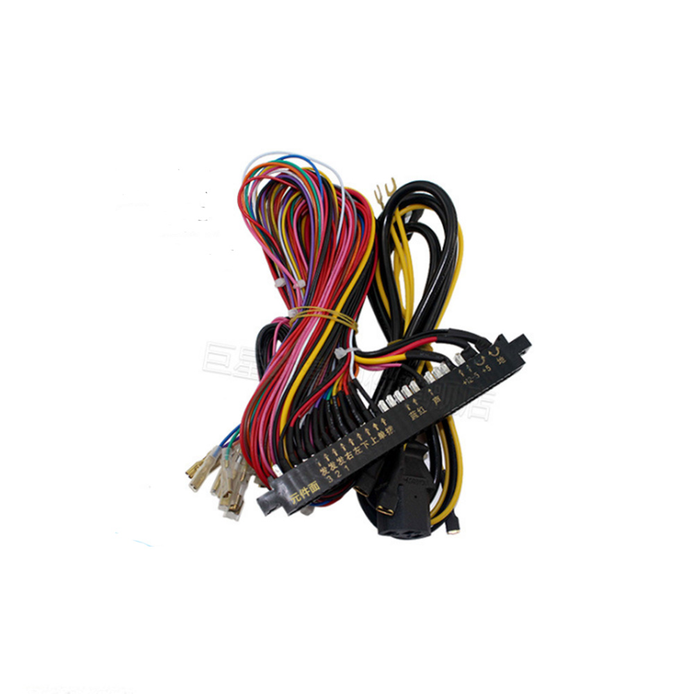 Jamma Wiring Harness Library Computer Adapters Arcade Wires For Game Machines
