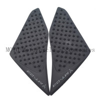 New Motorcycle Tank Traction Pad Decals Side Knee Grip Protector for yamaha MT03 MT 03 2015 2016 Knee Grip Decals Stickers