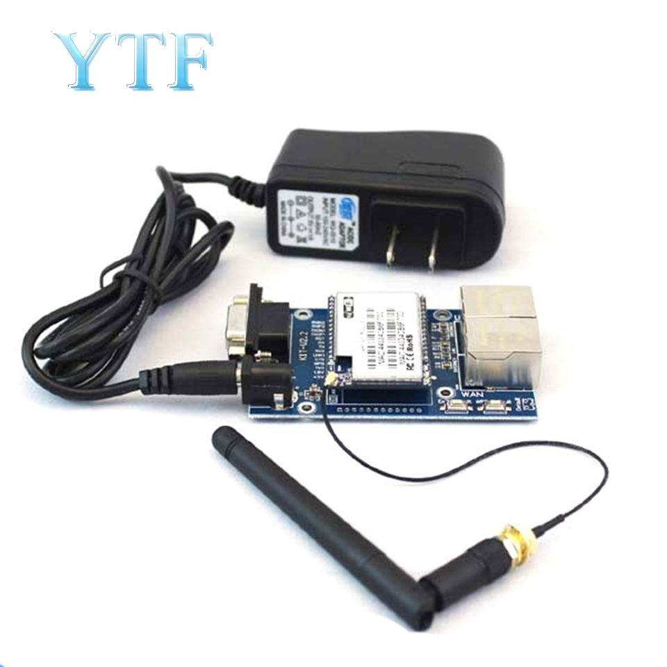 HLK-RM04 RM04 Uart Serial Port To Ethernet WiFi Wireless Module With Adapter Board Development Kit