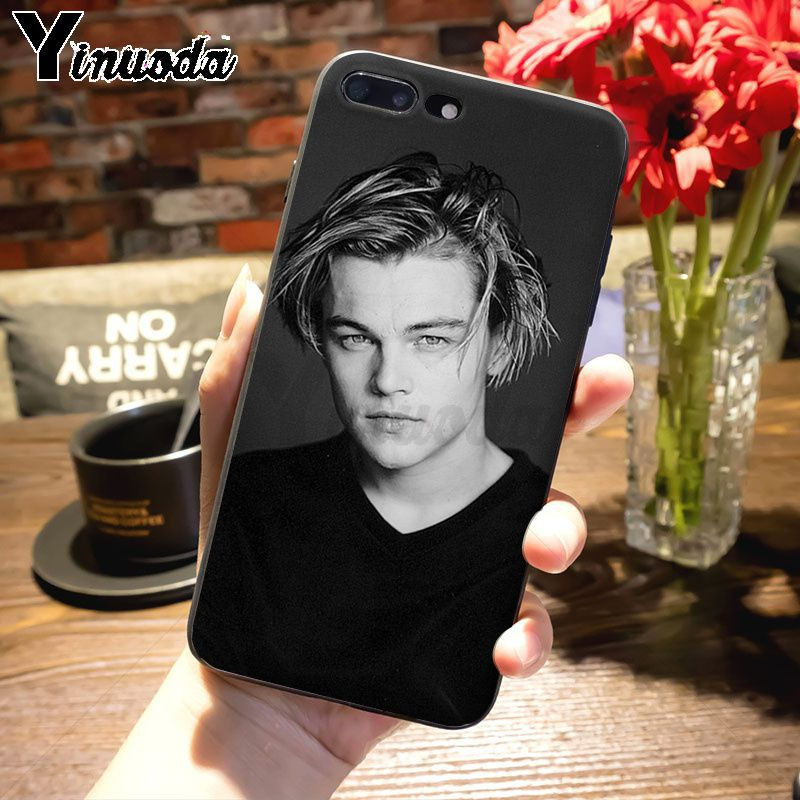 Yinuoda Leonardo DiCaprio young Super Star Top Detailed Phone case for iPhone 7plus 6S 7 8 8Plus X xs max xr 5S 11pro case