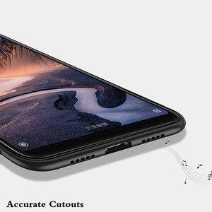 Image 4 - MOFi Original Back Case for Xiaomi Mi Max 3 Pro Hard PC Cover for Mi Max3 PU Leather Coque for Xiomi Max Luxury Housing