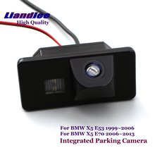 Liandlee Rearview Reverse Camera For BMW X5 E53 E70 Car Rear View Backup Parking Camera / SONY CCD HD Integrated High Quality цены онлайн