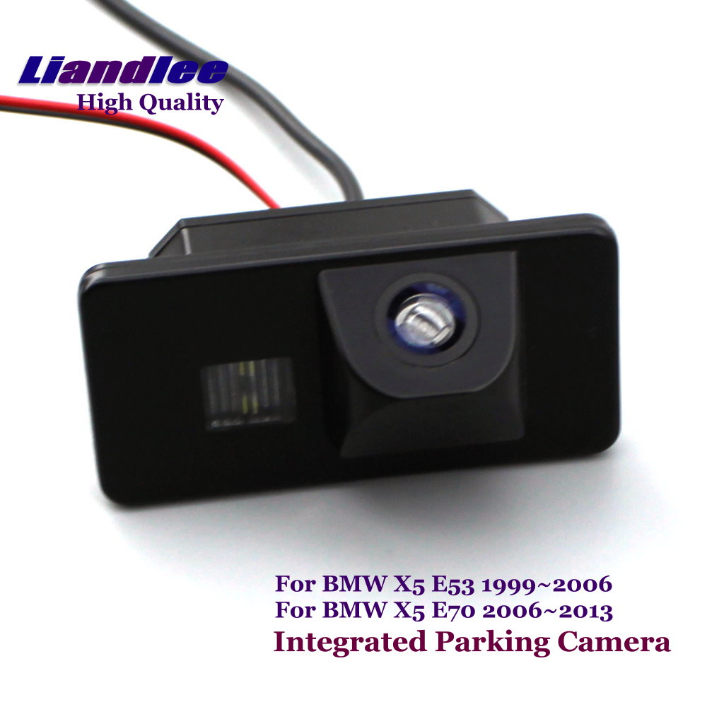 Liandlee Rearview Reverse Camera For BMW X5 E53 E70 Car Rear View Backup Parking Camera / SONY CCD HD Integrated High Quality