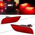 LEVOU Choques Refletor Traseiro Freio Luzes de Nevoeiro Para Subaru Exiga Levorg Impreza WRX STI Legado XV Crosstrek 11 12 13