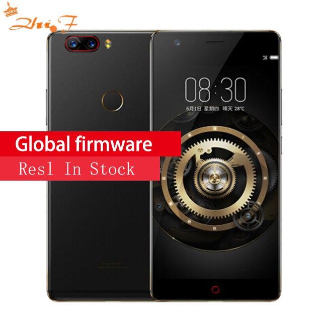 Nubia Z17 Lite 6 GB 64 GO Smartphone 5.5 Pouces Lunette-moins Snapdragon 653 16MP 13MP + 13MP Double caméra arrière 4G LTE téléphone portable