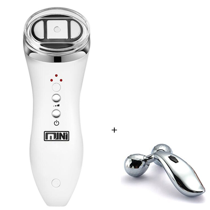 Mini Hifu High Intensity Focused Ultrasound RF Face Neck Lifting Beauty Massager Wrinkle Removal Tightening Radio Frequency intel celeron 1037u 1 8ghz cpu14 inch all in one pc computer from china 8g ram 500g hdd