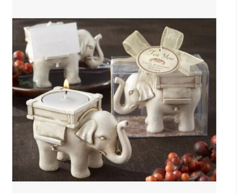 3D Lucky Elephant candlestick Handmade soap Molds Candle Molds Silicone Mold Chocolate Mold Fondant Cake Decorating Tool