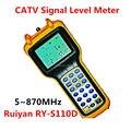 Ruiyan RY-S110D CATV Medidor de Nivel de Señal Digital de alta Precisión 5 ~ 870 MHz