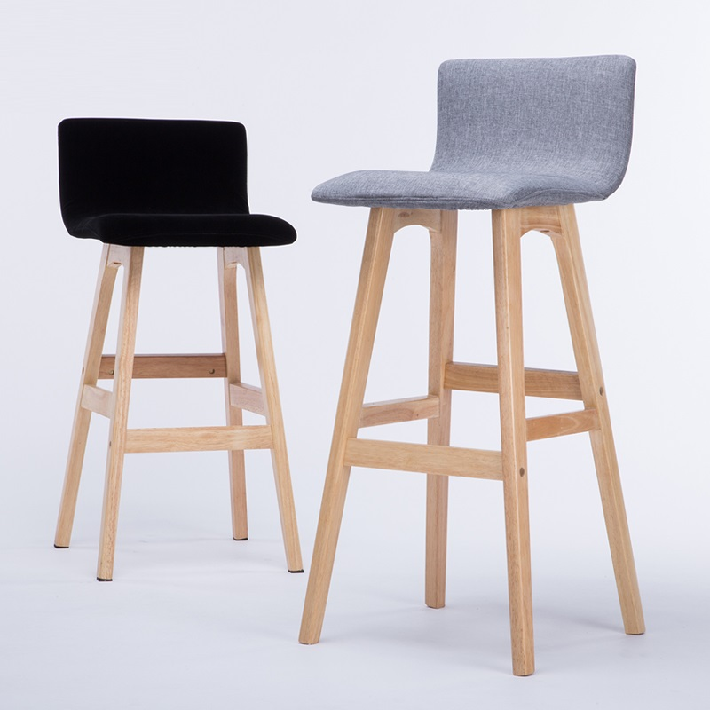 ECDAILY Live Bar Stools Wood Chair Stool High