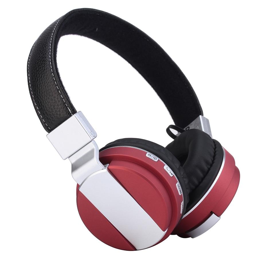 Fones de Ouvido de Metal Esporte sem Fio Fone de Ouvido com Micphone Sikkis Bluetooth Super Bass Estéreo Dobrável Hifi Bt008 4.2