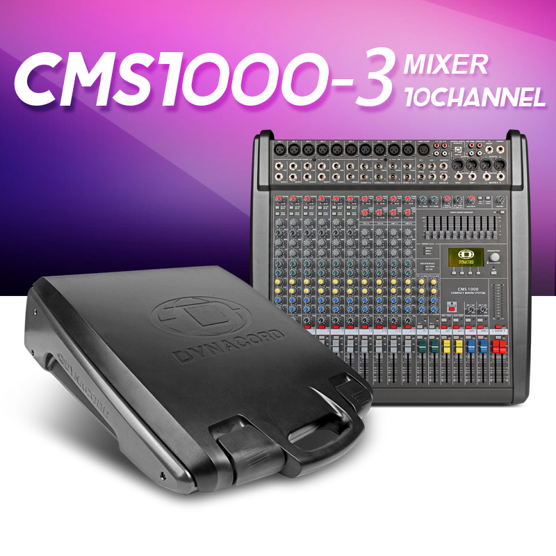 With Cover CMS1000 3 CMS Compact Mixing System Professional Live Mixer with Concert Sound Performance digital