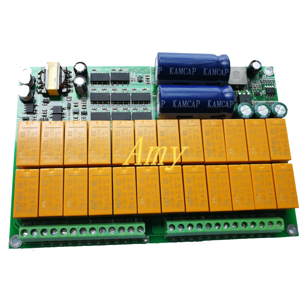 High Current Active Balance For 24 Series BMS Protective Plate Monomer Display Lithium Iron Lithium Titanate Ternary Batteries