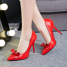 womens sexy red bottom stiletto super high heels shoes red black pointed toe 11cm thin heel new designer ladies casade pumps 853