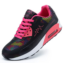New 2016 Fashion Flats Women Trainers Breathable Sport Woman Shoes Casual Walking Women Flats#SJL131