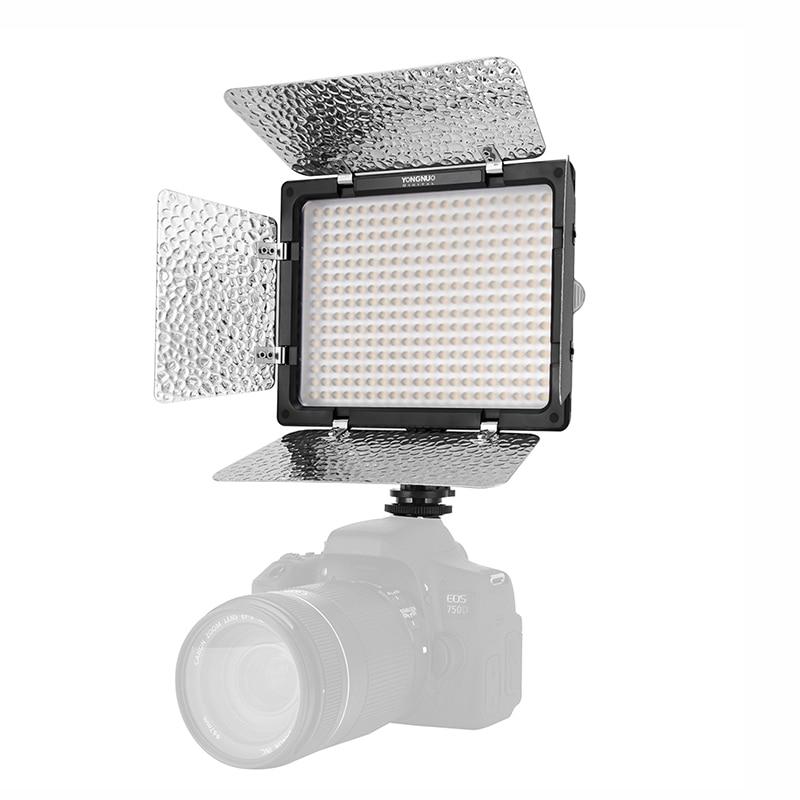 Yongnuo YN300 III YN-300 III 3200k-5500K CRI95 Camera Photo LED Video Light Optional with AC Power Adapter + Battery KIT 3
