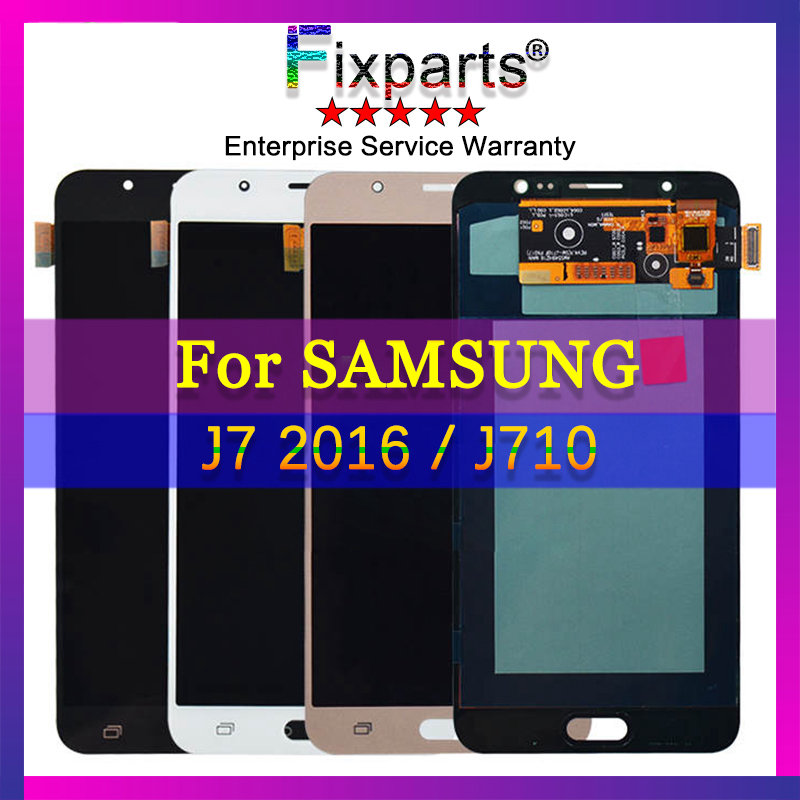 100% Tested J7 2016 Lcd Screen With Touch Screen Digitizer For Samsung J710 Lcd Display For Samsung J710F J710M J710H J710FN LCD100% Tested J7 2016 Lcd Screen With Touch Screen Digitizer For Samsung J710 Lcd Display For Samsung J710F J710M J710H J710FN LCD