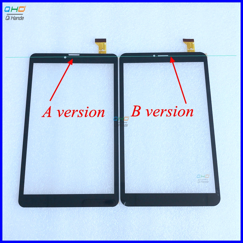 Free shipping 8 inch touch screen 100% New for Dexp Ursus P280 touch panel Tablet PC touch panel digitizer Note the call hole new for 8 inch tablet pc digitizer touch screen panel replacement part 80701 0b5291a free shipping
