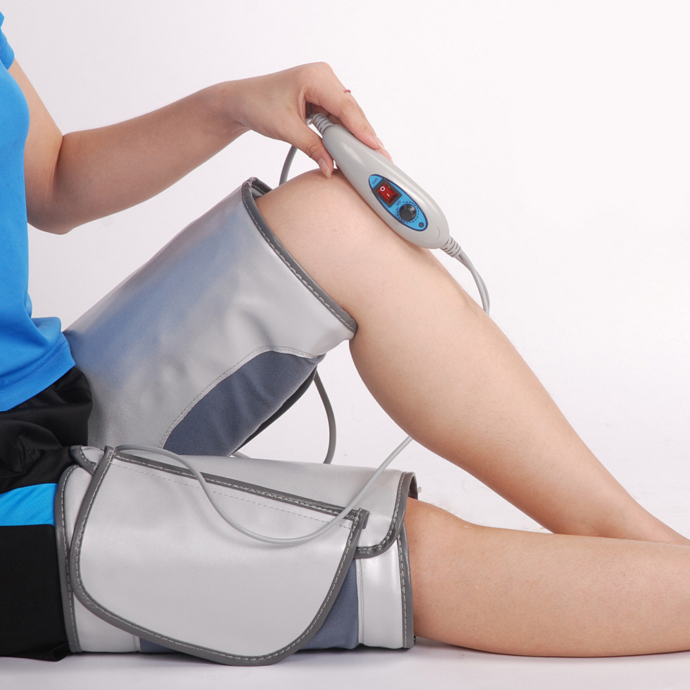 Legs massage instrument Electric Infrared heating belt Sauna Heating Spa Detoxification Thigh Calf Lose Weight FatBurning device все цены