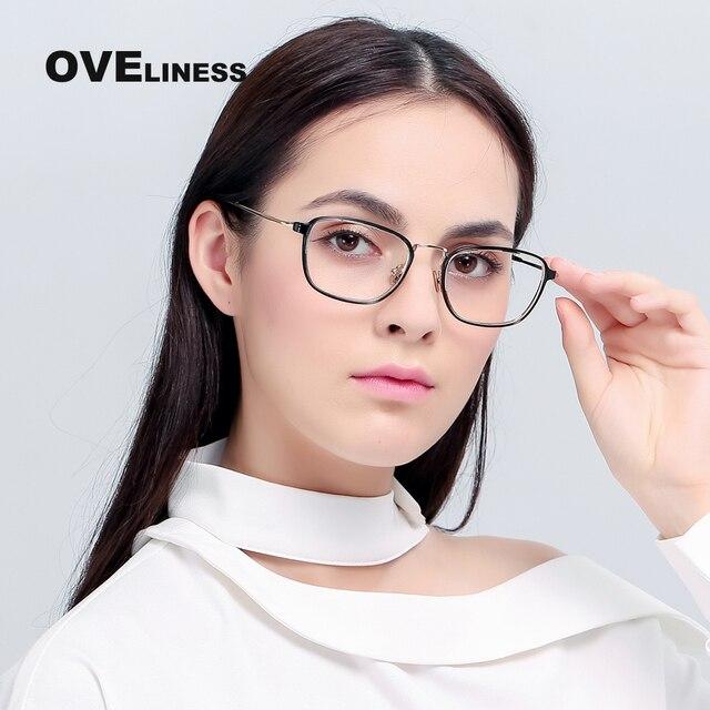 74d23d76c8 Montura de gafas para hombre y mujer, montura de gafas ópticas para lentes  transparentes para