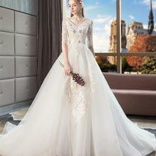 Nikittanne Luxury Vestido De Novia Wedding Dress