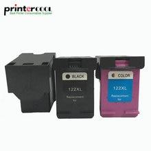 einkshop 122XL Refilled Ink Cartridge Compatible for HP 122 XL Deskjet 1000 1050 1050A 1510 2000 2050 2050A 3000 3050 printer цена в Москве и Питере